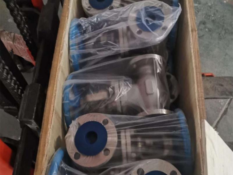 JIS5K/10K Flanged globe valve