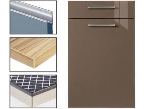 UV coating Kitchen Cabinet Doors Supplier