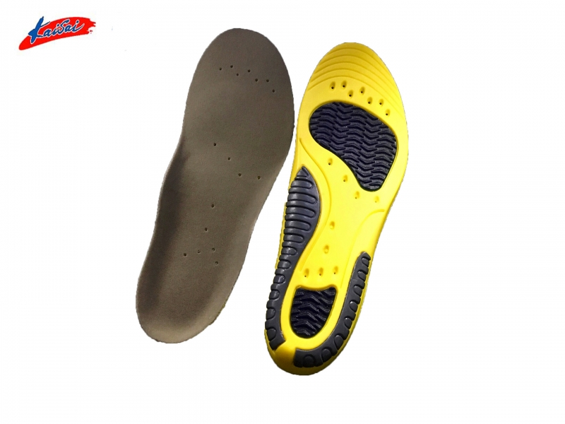 Amazon Hot Sale Foot Balance Arch Support PU Insoles Sports Shoes Insoles