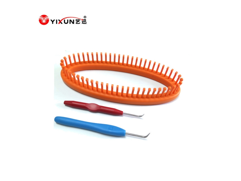 High Quality Plastic Straight Knitting Loom Set Mould