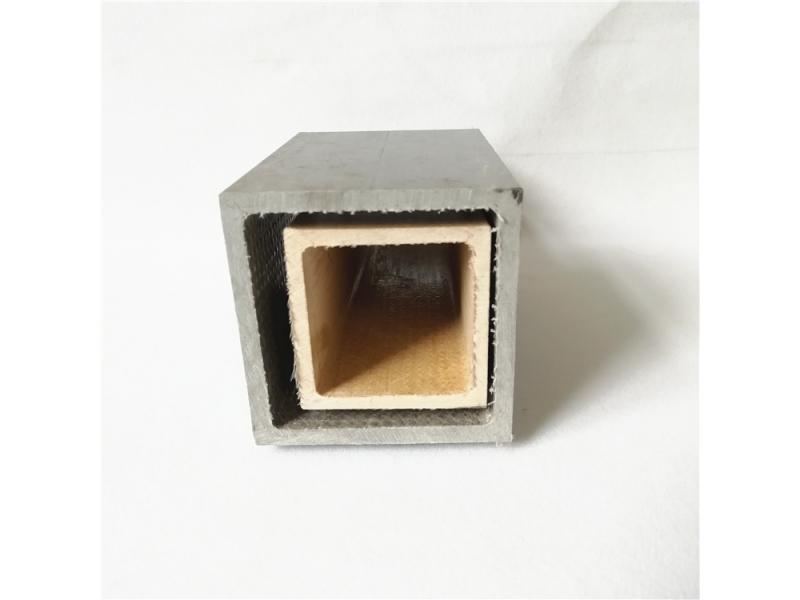 FRP Fiberglass glass fiber square tube Pipe Bar