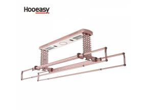 Infrared heated drying electrical clothes dryer rack