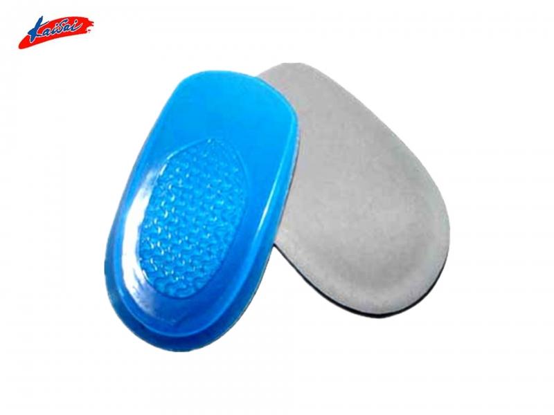 Silicone Gel  Heel Protector Cushion Pad Gel Heel Half Insole