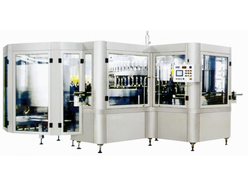 factory supply wine washing flling and sealing  machine(