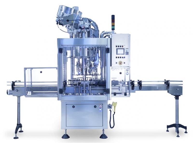 ganghong factory supply Glass bottle capping machine