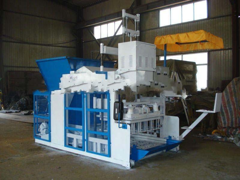QMY10-15 Big production mobile hydralic concrete block making machine