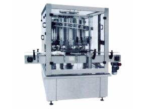Ganghong factory supply Sauce station type piston filling and capping  machine
