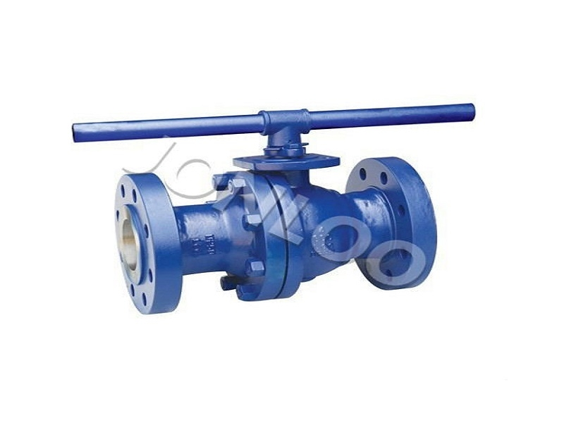 Flanged Ball Valve with lever 4 inch 300 LB A216 WCB Body SS Ball PTFE Seat
