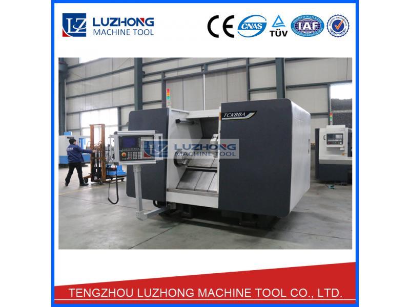 CNC  metal lathe SCK56A Fanuc cnc lathe