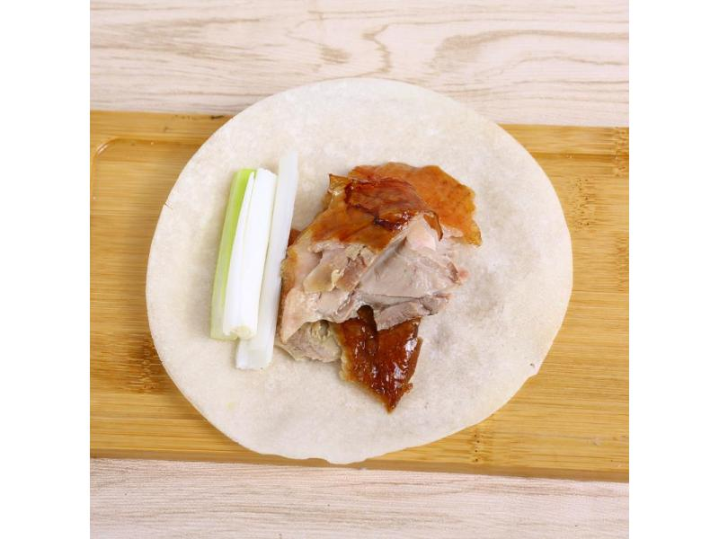Frozen peking duck pastry