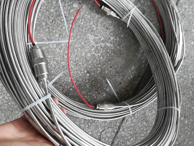 Stainless steel Mi heating cable