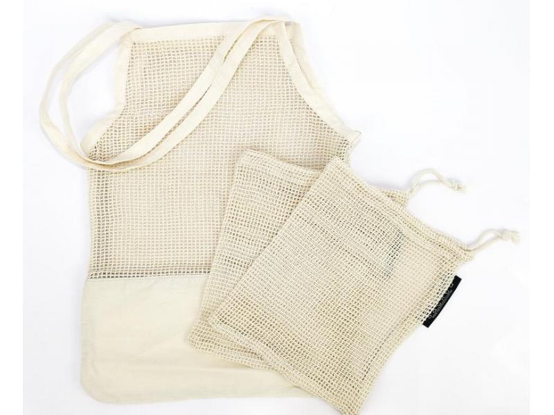 String Market Bag Produce Organic Cotton Eco-Friendly Reusable