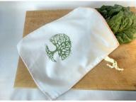 Zero Waste Produce Bag - Bulk Bag - Veggie Bag - Fruit Bag - Shopping Bag, Made with Zero Waste - Ar