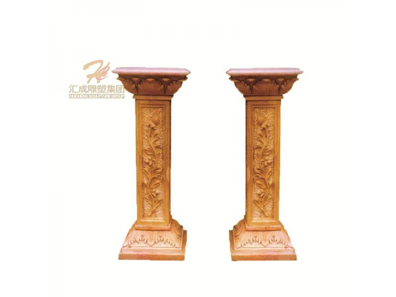 Customized House Decorative Pillars Marble Columns