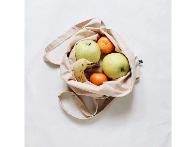 Zero waste bag Zero waste produce bags Reusable bag Eco friendly bag Cotton bag Peach colour bag Org