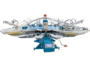 YH-Automatic Textile Screen Printing machine