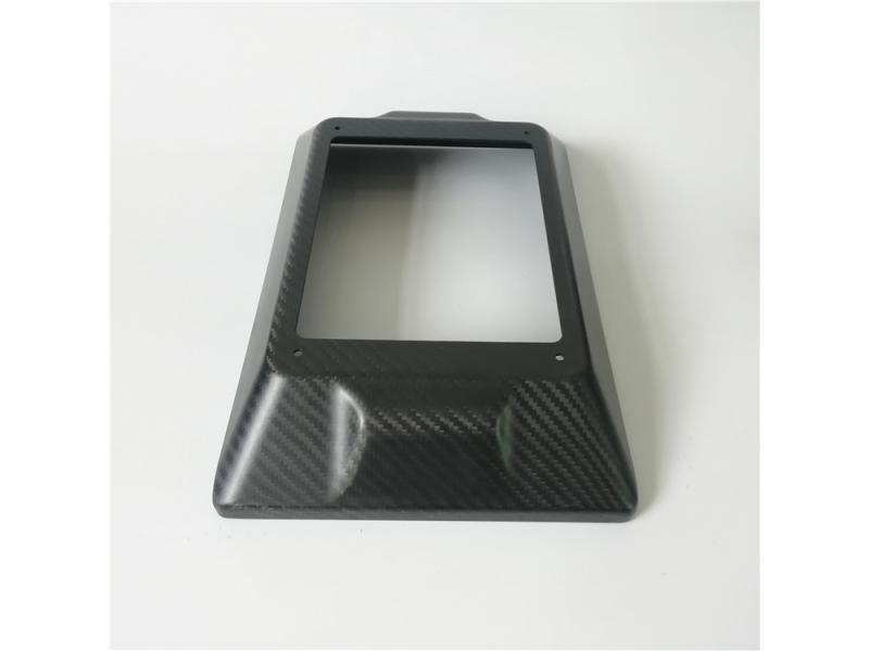 custom carbon fiber Auto parts enclosure cover