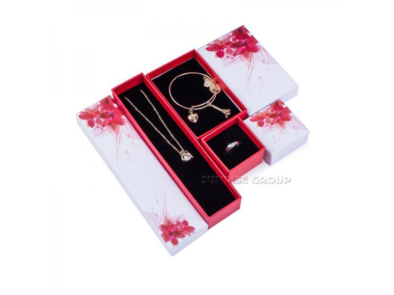 Customized Logo Cardboard Packaging Gift Jewelry Box