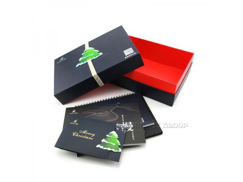 China Factory Direct Wholesale Custom Logo Printed Paper Christmas Gift Box