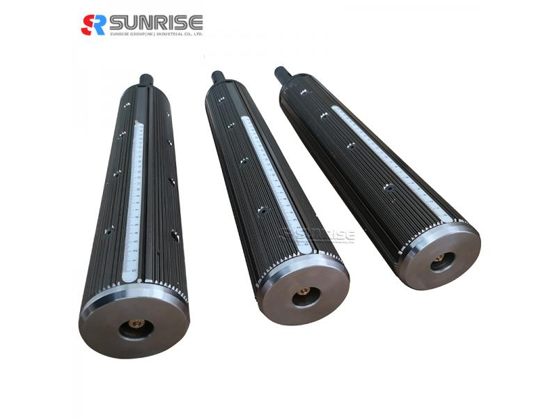 SUNRISE Custom Make High Accuracy Price List Steel Material Slitting Air Shaft For Package Machine