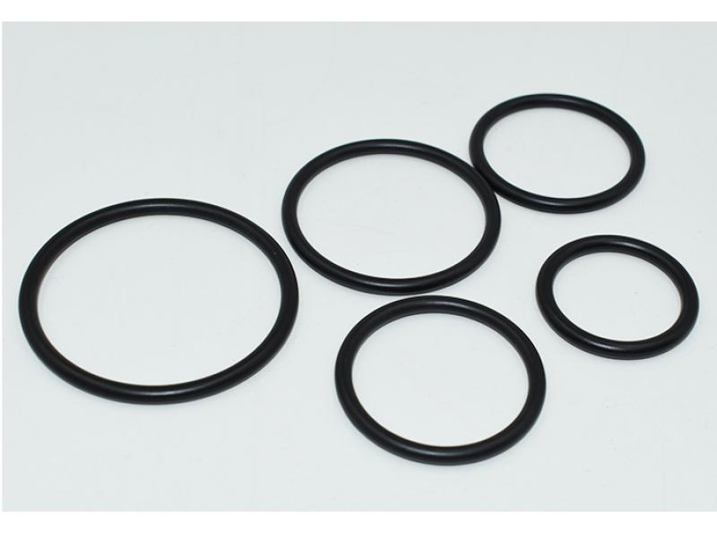 Metal ring button O-ring buckle
