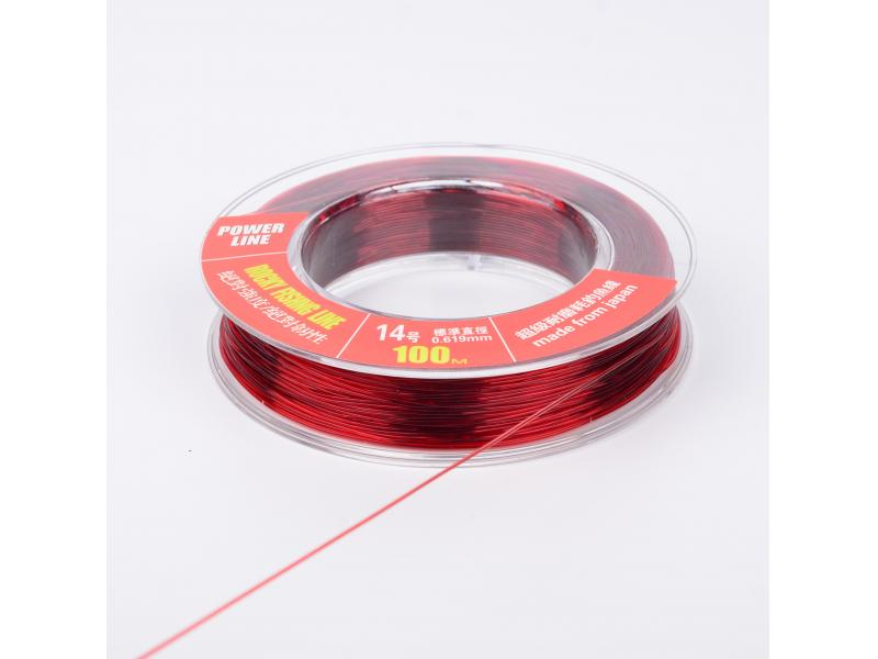 Knot strength Supple easy to handle  Japanese Monofilament fishing line