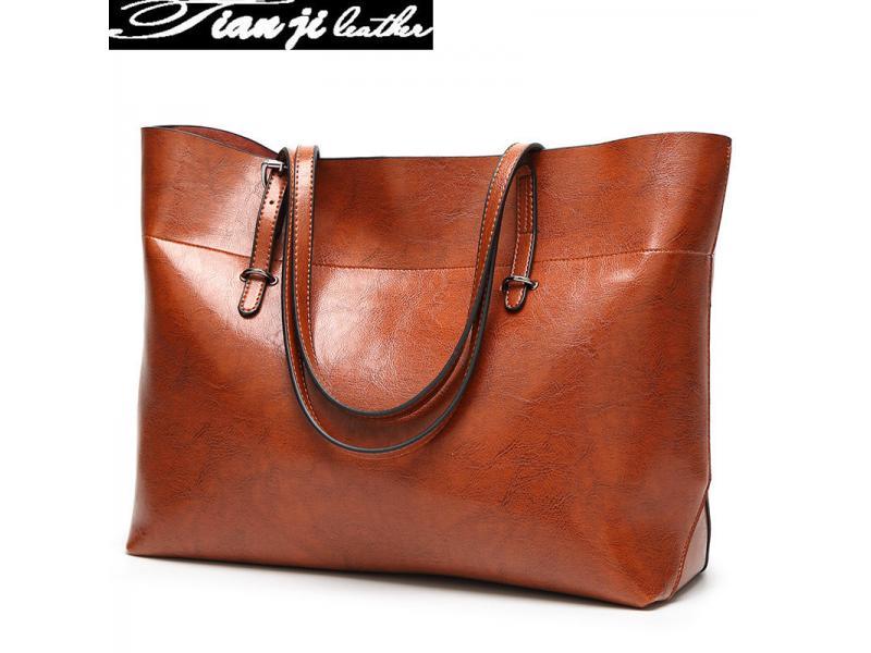 2019 OEM & Wholesale Fashion Ladies Handbag 2019 PU Leather Women Tote Bags Lady Handbags