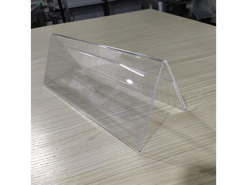 Acrylic countertop display board