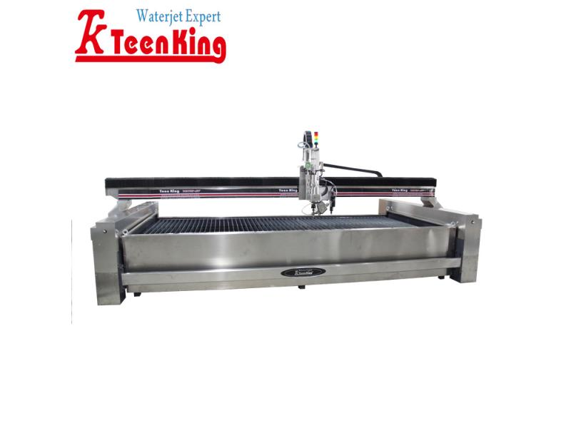 3D waterjet cutting machine waterjet cutter with  drilling head