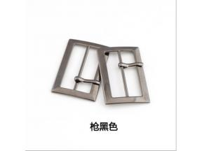 The factory sells three rounds of Japanese buckle metal belt decoration to adjust the buckle belt da