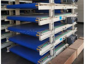 Module conveyor platform