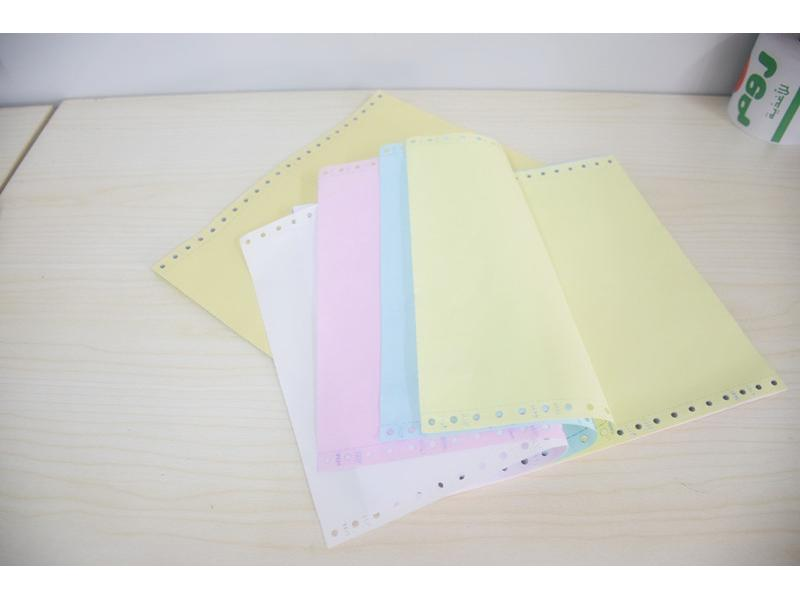 4 Colors Hot-sale Carbonless Paper For Financial Reports, B/L, Express Waybilll