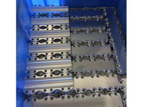 Aluminum alloy parts processing