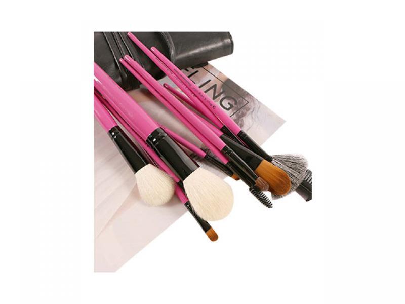 12 Pieces Make Up Brushes Set For Face Blender/Eyeshadow