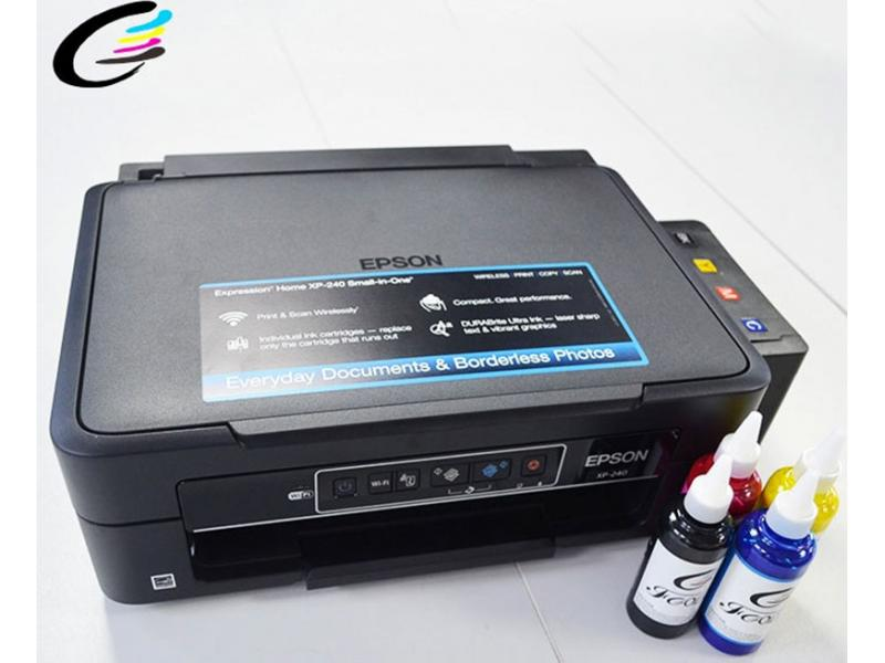 4 Colour Multifunction Printers for Epson Expression Home XP-240 Inkjet Printer
