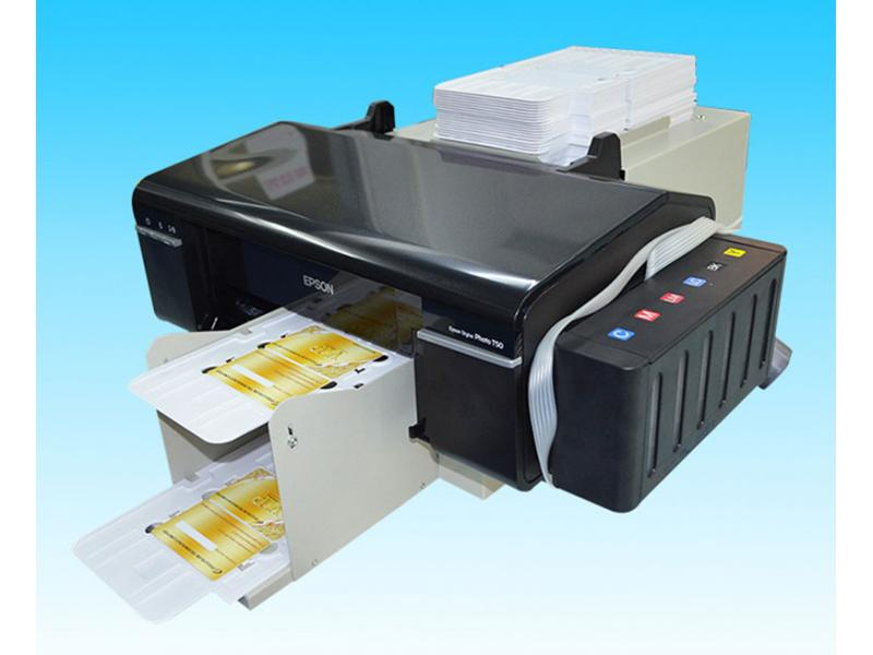 Desktop Inkjet L800 Print PVC Smart Card Printer