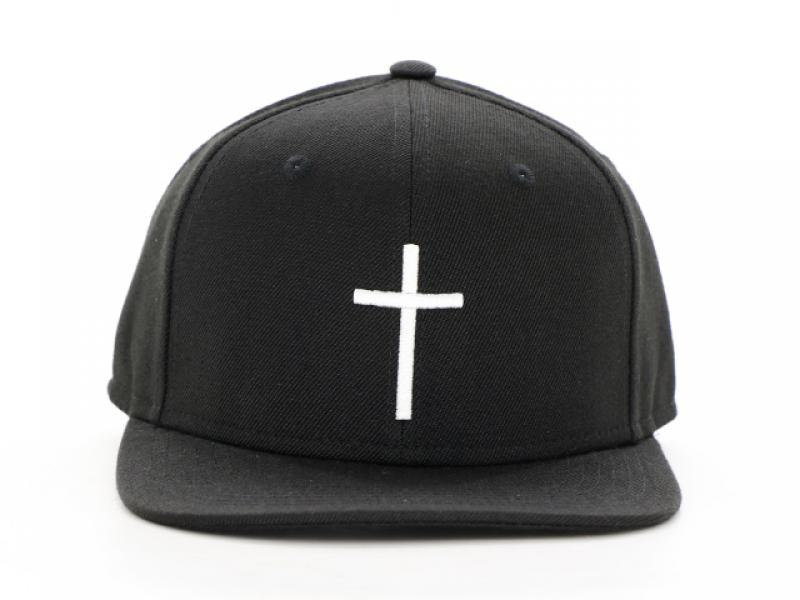 Black Embroidery Cotton Cheap Mens Snapbacks Custom Mens Snapback Hats