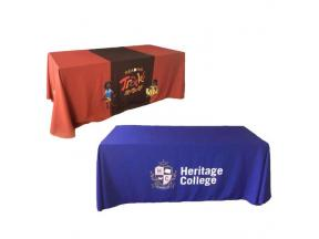 4ft 6ft 8ft Table Cloth Table Throw For Advertisement Promotion