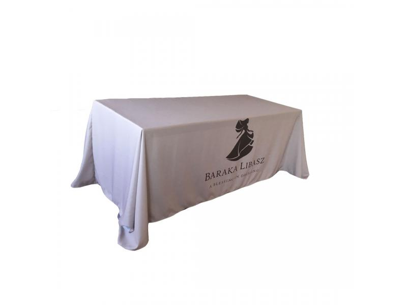 Custom Size And Logo Premium Polyester  Cheap Table Throw Table Cover