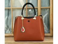 Hot Selling Wholesale Leather PU Fashion Women Lady Handbag with Certificate(J925)