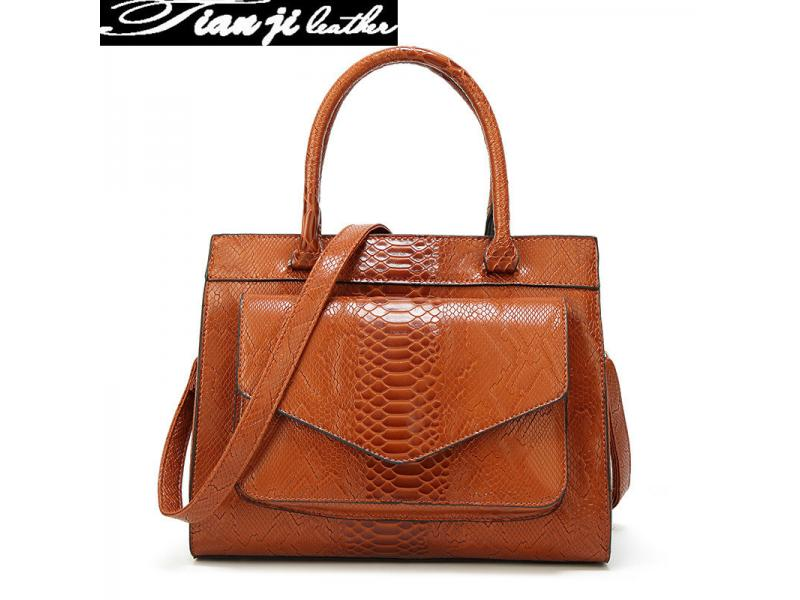 Factory Professional OEM&Wholesale Luxury PU Fashion Bags Lady Handbag with Certificate