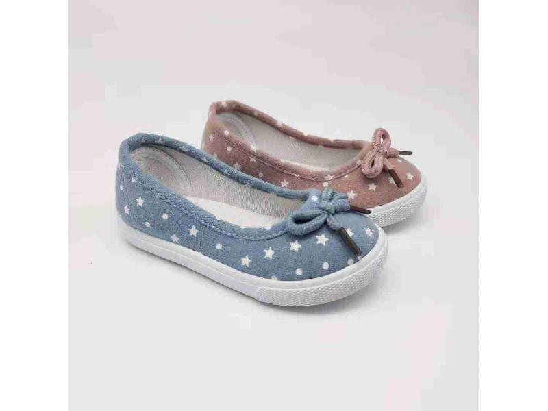 Kids Injection Canvas Casual Shoes Low Price Baby Shoes With A Bow