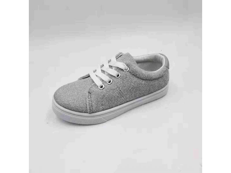 Fashion Kids Injection Canvas Casual Shoes Low Price Baby Shoes