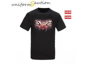 Custom 3D printing animal face t shirt promotional t shirt