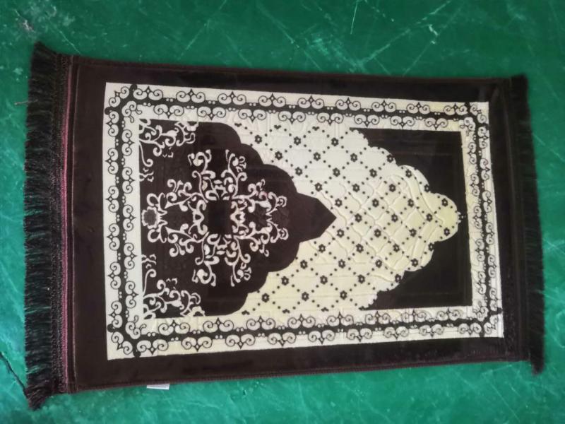 100% Polyester Printed Prayer Mat/Rug