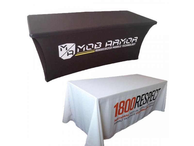 Advertising Table Cloth Table Cover Table Throw