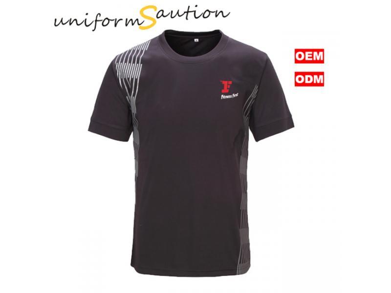Custom fast dry sport marathon running dryfit t shirt