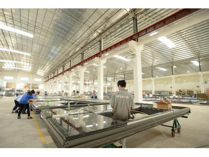 Hwarrior Glass Curtain Wall Window Factory