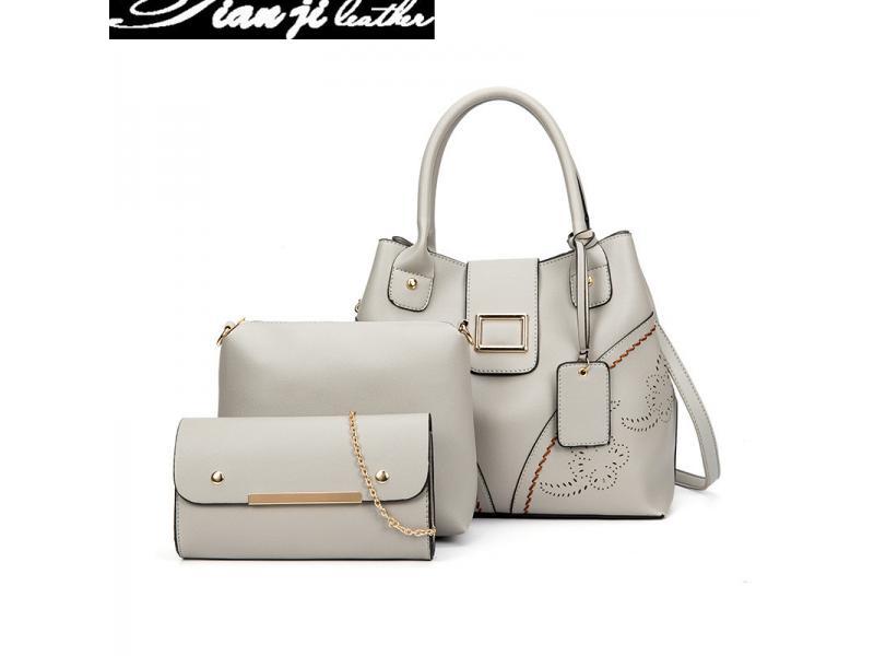 Wholesale Top Handle Fashion Bag Shoulder Bags Lady Handbags (J957)