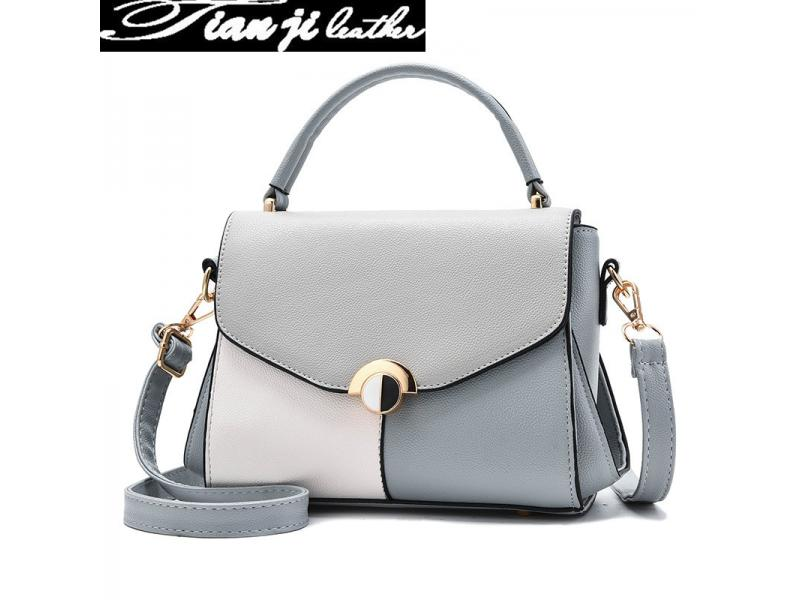 Wholesale 2019 Classic High Quality Retro Fashion Handbags PU Leather Lady Handbag (J962)